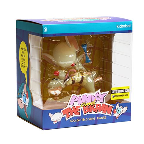 Pinky and the Brain Radioactive Glow-in-the-Dark Vinyl Figure - Convention Exclusive