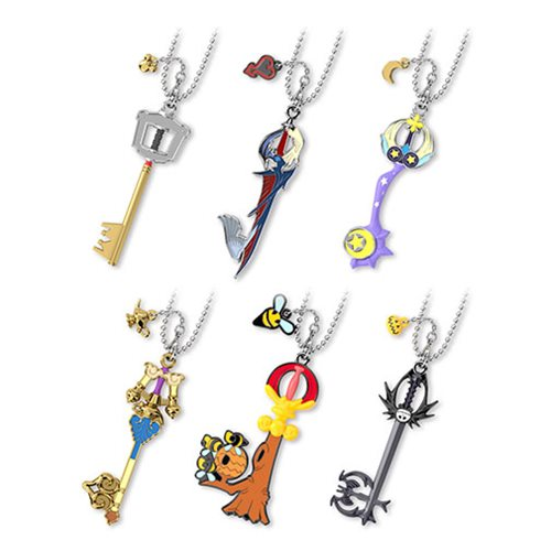 Kingdom Hearts Necklace keyring LInk Pendant Keychain New 6 style