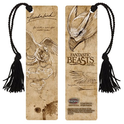 Fantastic Beasts and Where to Find Them Thunderbird Notes Bookmark
