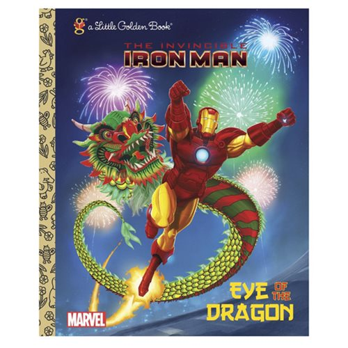Marvel Iron Man Eye of the Dragon Little Golden Book