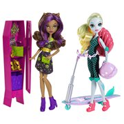 Monster High Scooter and Locker Case