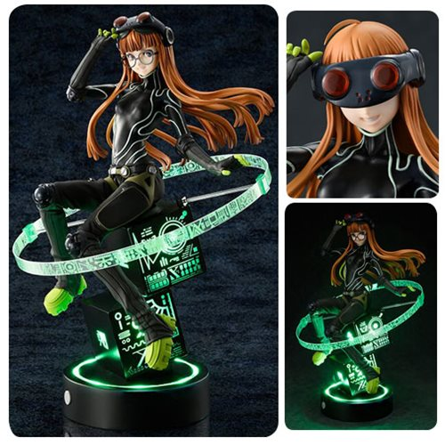 Persona 5 Futaba Sakura Phantom Thief with Glow Base Ver. 1:7 Scale Statue