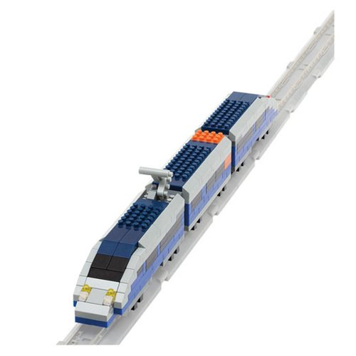 Blue Bullet Train Nanoblock Constructible Figure