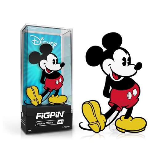 Disney Mickey Mouse FiGPiN Enamel Pin