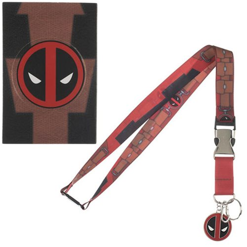 Deadpool Suit-Up Lanyard