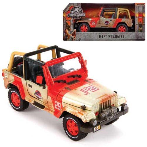 Jurassic World Fallen Kingdom Jeep 1 18 Die Cast Vehicle