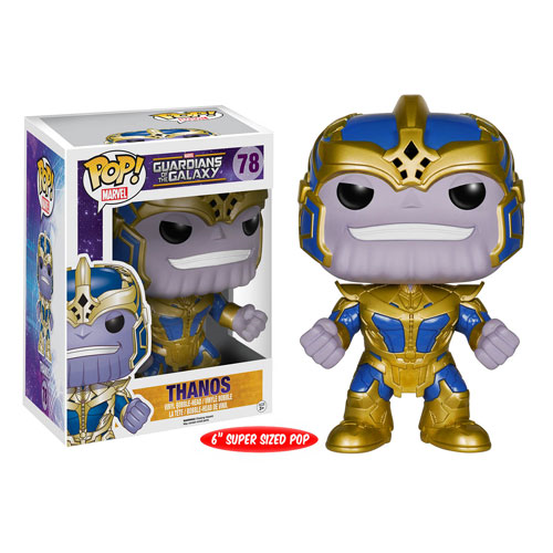 Guardians of the Galaxy Thanos 6-Inch Pop! Vinyl Bobble Head Figure