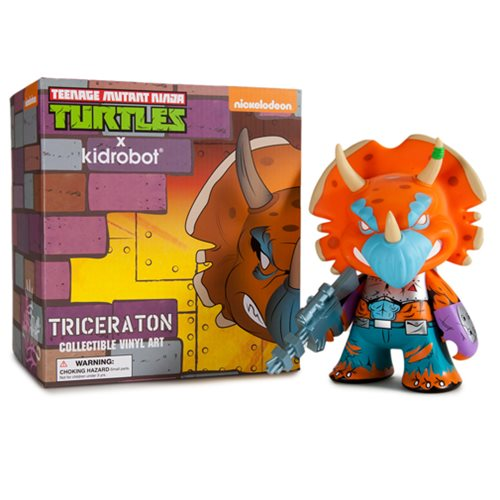 Teenage Mutant Ninja Turtle Triceraton Figure, Not Mint