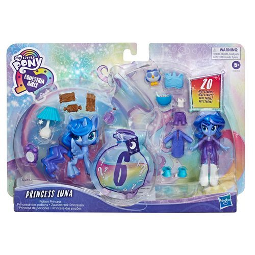 MLP EG Magic Mirror Princess Luna Doll, Not Mint
