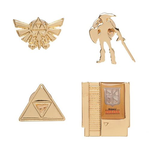 Zelda Lapel Pin Set