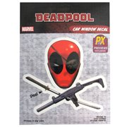 Deadpool Skull and Crossguns Vinyl Decal - Previews Exclusive