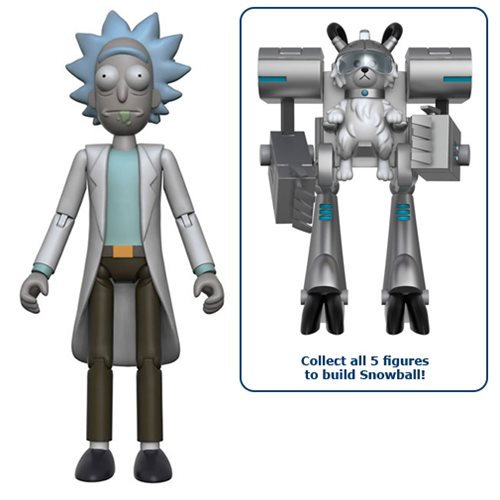 Rick and Morty Rick 5-Inch Action Figure