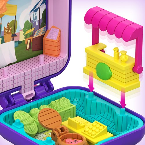 Polly Pocket Tiny Pocket Places Polly Farmer's Market Compact