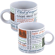 William Shakespeare Insults Disappearing Mug