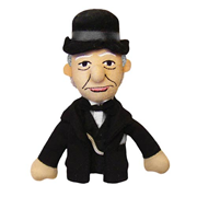 Winston Churchill Plush Finger Puppet Magnet