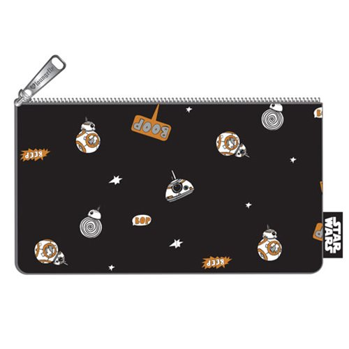 Star Wars BB-8 Beep Boop Print Pencil Case