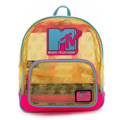 MTV Clear Neon Mini-Backpack