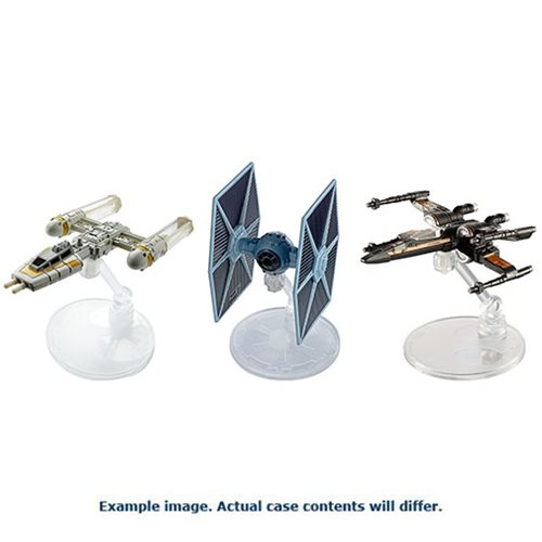 Star Wars Solo Hot Wheels Starship Vehicle Wave 1 Case