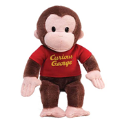 Curious George in Red Shirt 12-Inch Plush