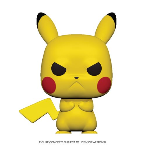 Pokemon Grumpy Pikachu Pop! Vinyl Figure