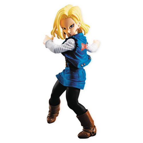 Dragon Ball Z Android 18 Dragon Ball Styling Mini-Figure