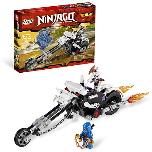 Lego Ninjago 2259 Skull Motorbike Entertainment Earth