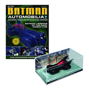 Batman Legends of the Dark Knight #198 Die-Cast Batmobile with Collector Magazine