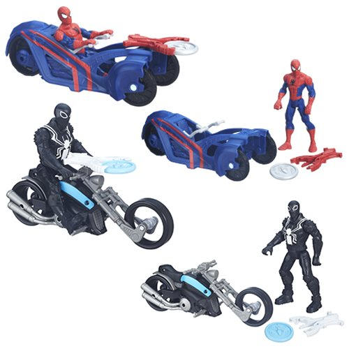 Spider-Man 6-Inch Action Figures with Cycles Wave 1 Set