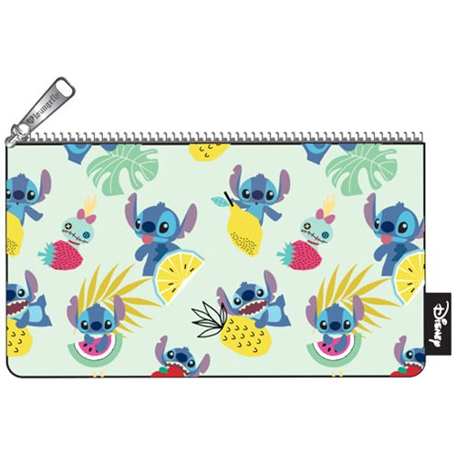 Lilo & Stitch Scrump Fruit Print Pencil Case