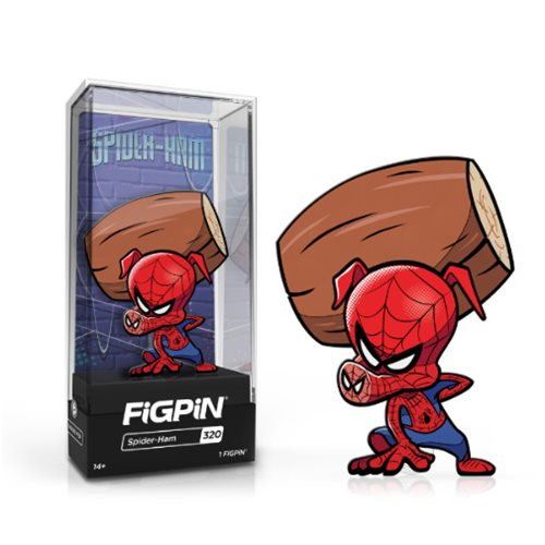 Spider-Man: Into the Spider-Verse Spider-Ham FiGPiN Enamel Pin