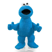 Sesame Street Jumbo Cookie Monster 34-Inch Plush