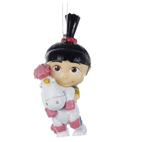 Despicable Me Agnes and Fluffy Ornament