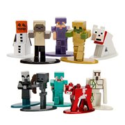 Minecraft Nano Metalfigs Die-Cast Metal Mini-Fig 5-Pack Set