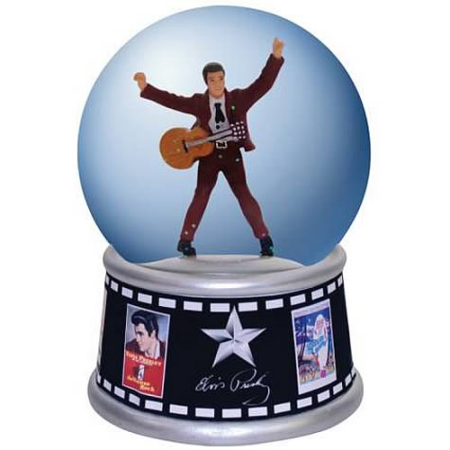 Elvis Presley Movie Posters Water Globe
