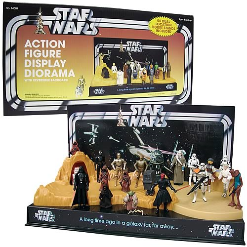 Pride Displays Star Wars Diorama Entertainment Earth Delectable Star Wars Action Figure Display Stand