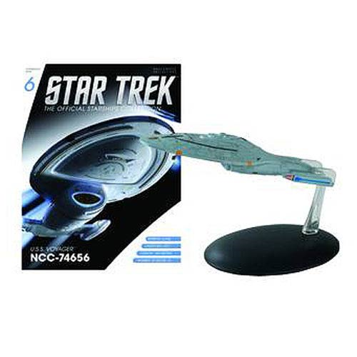 Star Trek Starships USS Voyager NCC-74656 Vehicle with Collector Magazine