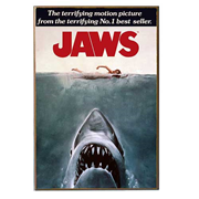 Jaws Movie Poster Wood Wall Artwork