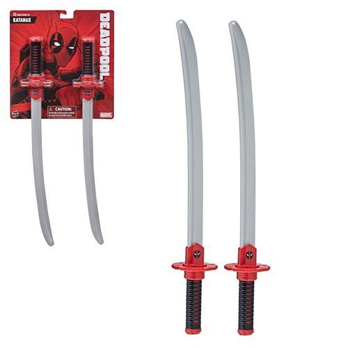 Deadpool Katanas Roleplay Swords