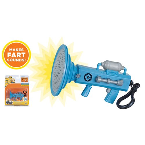 Despicable Me 3 Mini Fart Blaster Keychain