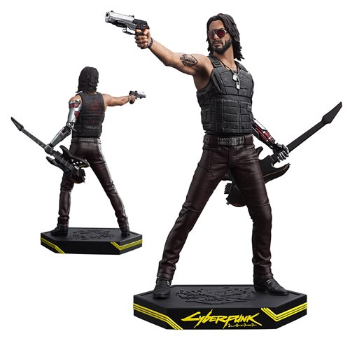 Cyberpunk 2077 Johnny Silverhand Statue, Not Mint