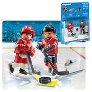 Playmobil 9014 NHL Rivalry Series - CHI vs DET Action Figure 2-Pack