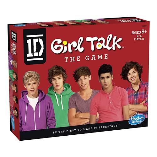 1D Girl Talk Game