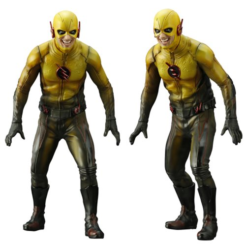 Flash TV Series Reverse Flash ArtFX+ Statue