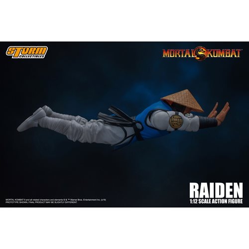 Mortal Kombat Raiden 1:12 Action Figure