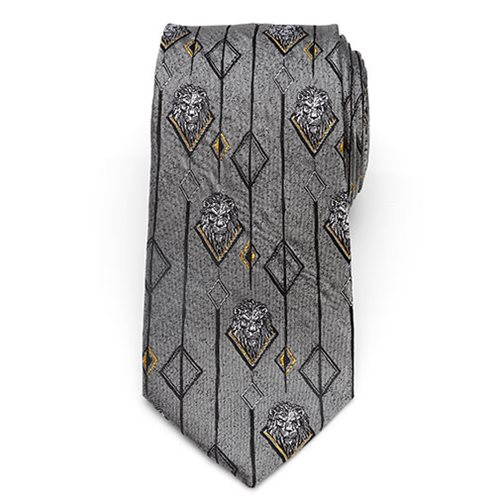 Lion King Scar Gray Men's Tie