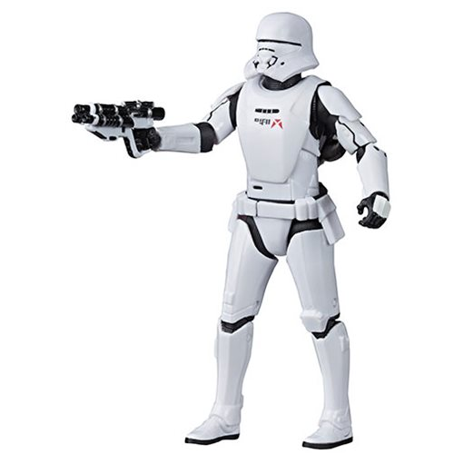 Star Wars The Black Series The Rise of Skywalker First Order Jet Trooper 6-Inch Action Figure, Not Mint