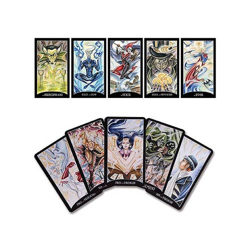 Justice League Tarot Cards