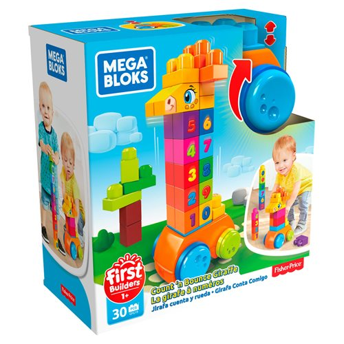 Mega Bloks Count and Bounce Giraffe