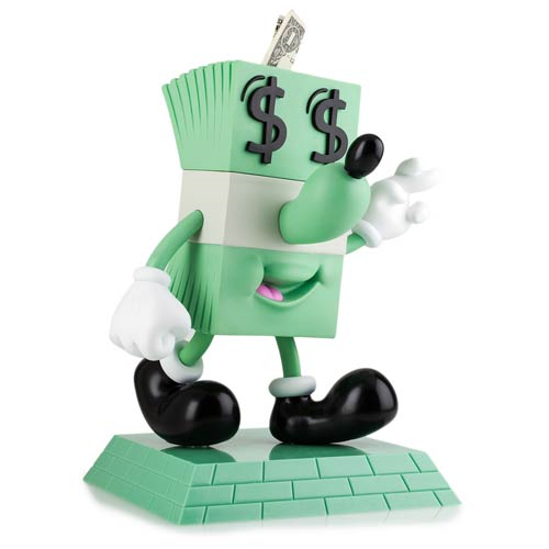 Kidrobot Lucky Money Dollar by Jeremyville 8-inch Vinyl Figure