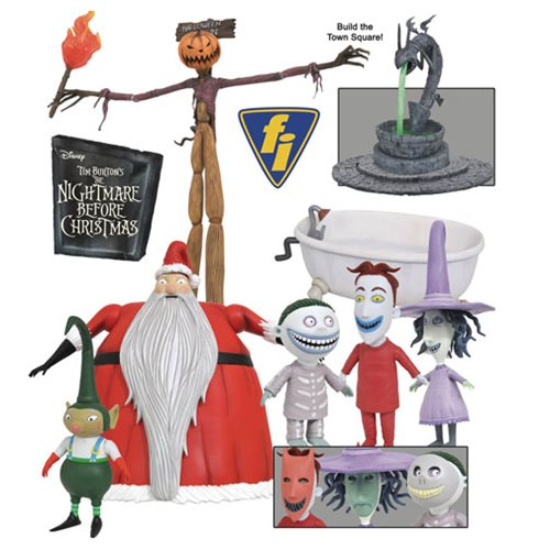 Nightmare Before Christmas Select Series 3 Figure Set
